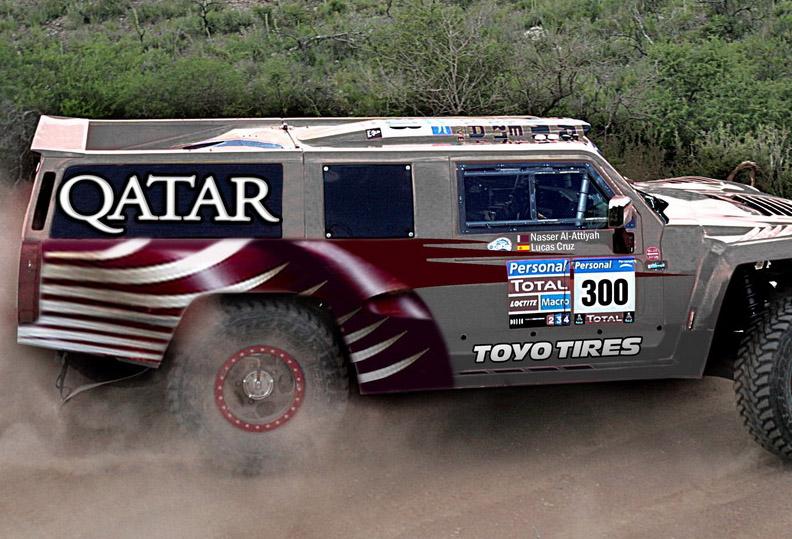 Насер Ал Атия сменя VW с Hummer за рали Дакар