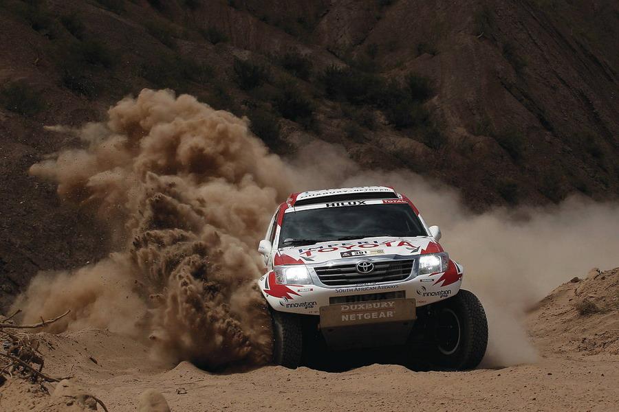 """Рали """"Дакар"""" 2012: репортаж от етап 4"""