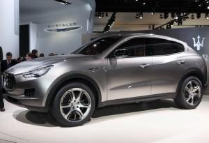 Maserati разкри новия SUV Kubang в Детройт
