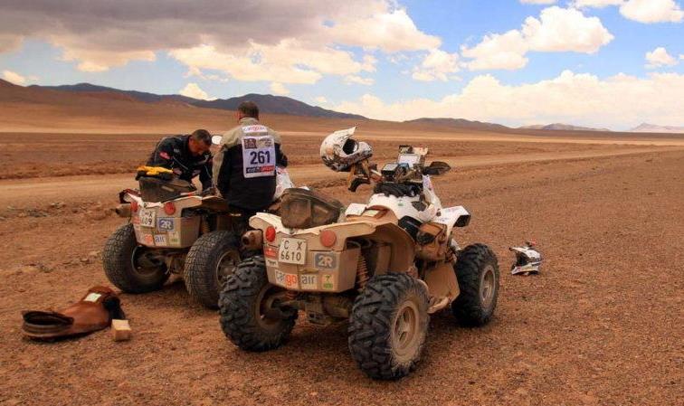 "Рали ""Дакар"" 2012: видео обзор на етап 7"