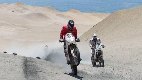Дакар 2012: още избрани снимки от етапа Арекипа – Наска