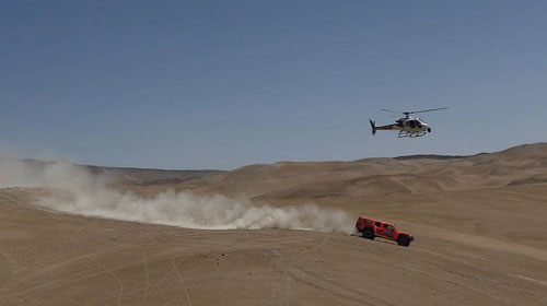 """Рали """"Дакар"""" 2012: избрани снимки от етап 10"""
