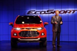 Ford представи новия SUV EcoSport в Ню Делхи, Индия