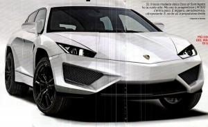 Така ли ще изглежда джипът на Lamborghini?