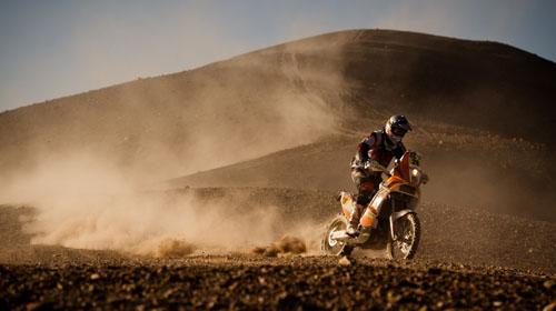 """Рали """"Дакар"""" 2012: най-добрите снимки от KTM, част 2"""