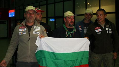 """Българските състезатели от рали """"Дакар"""" се прибраха вкъщи"""