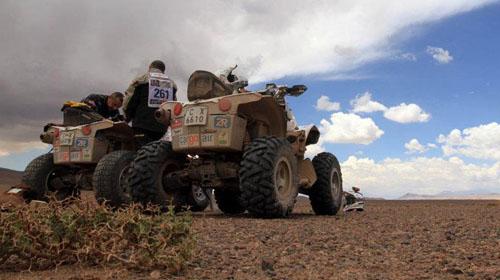 """Ценков остана без бензин, Гордън направи салто в етап 13 на рали """"Дакар"""""""