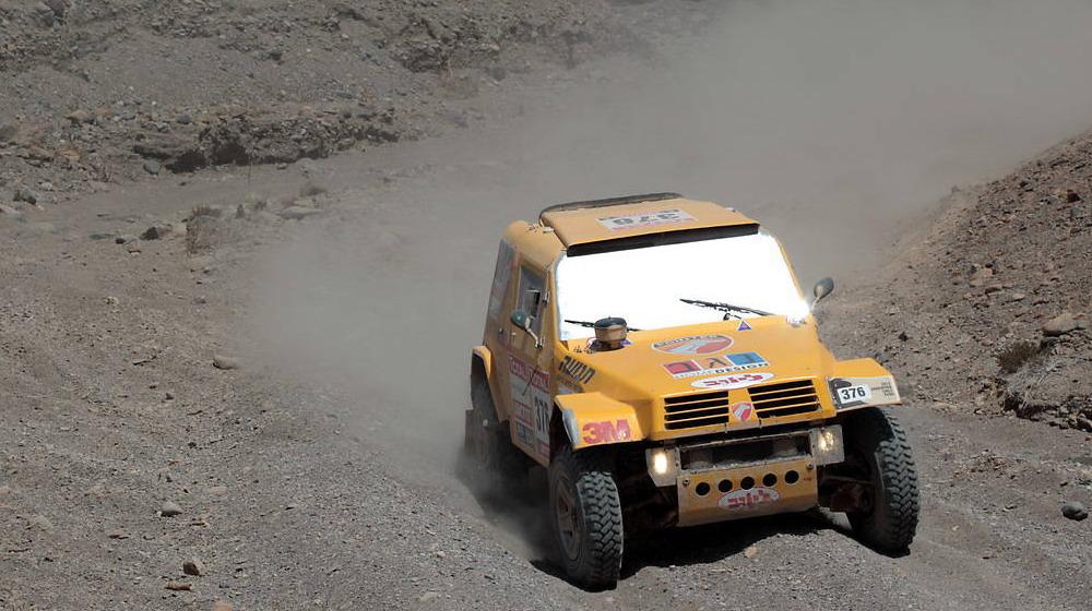 """Рали """"Дакар"""" 2012: репортаж етап 8"""