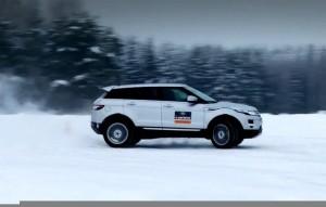 Съвети за зимно шофиране от Land Rover (видео)
