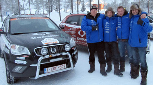 SsangYong Korando спечели ScanCoveryTrial 2012