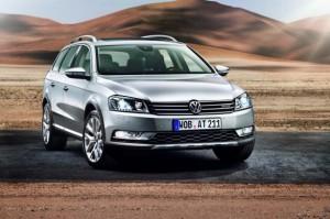 Новият Volkswagen Passat Alltrack в действие (видео)