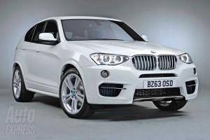 Първи реалистични кадри, разкриващи новото BMW X4