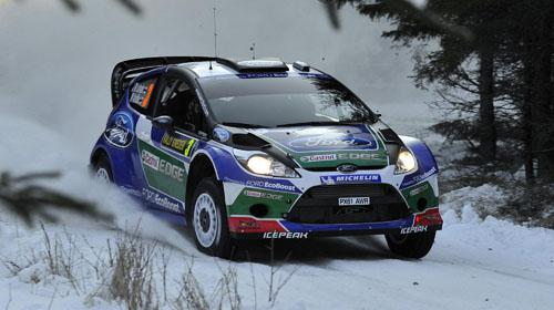 """WRC: Яри-Мати Латвала и Ford с победа в рали """"Швеция"""""""