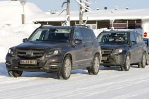 Spyshots: След GL сгащиха и новия Mercedes Benz GLK