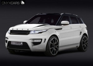 Range Rover Evoque Rouge Edition от Onyx Concept