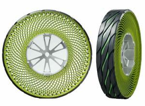 Bridgestone работи върху автомобилна и мотоциклетна гума без въздух