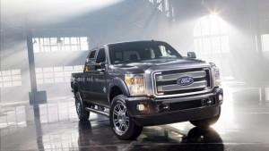 Ford F-Series Super Duty Platinum излиза на пазара (галерия + видео)