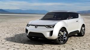 Ssangyong XIV-2 Convertible Crossover Concept дебютира официално