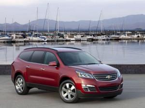 Chevrolet Traverse 2013 ще дебютира в Ню Йорк (галерия)