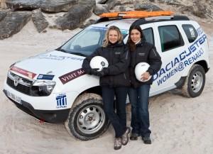 Шест дамски екипажа с Dacia Duster на Aïcha des Gazelles