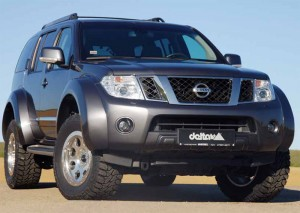 От SUV до оф-роуд звяр: delta 4×4 Nissan Pathfinder Bigfoot