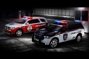 Спецверсии на Dodge Durango за полицията и пожарната в САЩ (галерия)