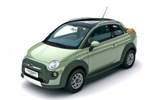 Fiat 500 Cross Up: 4х4 пикап от Carrozzeria Castagna