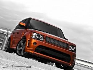 Новият Range Rover Sport Vesuvius от Kahn Design