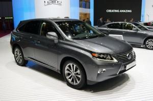 Lexus RX 2013 дебютира официално в Женева (галерия + видео)