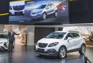 Премиера на компактния SUV Opel Mokka в Женева (галерия+видео)