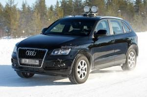 Spyshots: сгащиха фейслифта на Audi Q5