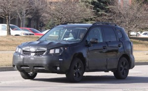 Spyshots: хванаха Subaru Forester 2014 (галерия)