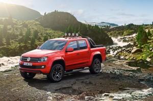 Volkswagen Amarok Canyon: екстремна версия за каякари