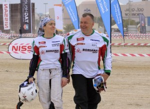 Христов отпадна, Тодорова продължава в Abu Dhabi Desert Challenge 2012