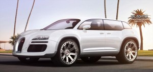 Как би изглеждал Bugatti SUV?