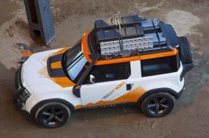 Два специални модела Land Rover акомпанират DC100 Expedition в Ню Йорк (галерия)