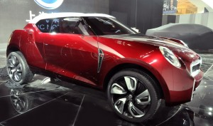 MG Icon SUV ще си съперничи с Nissan Juke и Mini Countryman (галерия)