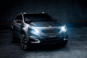 Peugeot Urbаn Crossover дебютира в Пекин (галерия + видео)