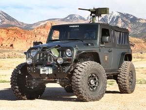 V8 Jeep Wrangler Recon: готов за война със зомбита (галерия)