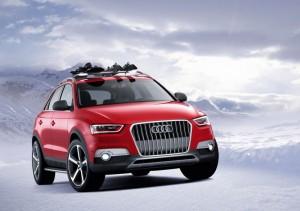 Audi Q3 Red Track за шоуто във Вьортерзе (галерия)