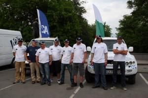 "Български автомобил се готви за рали ""Дакар 2013"" (галерия+видео)"