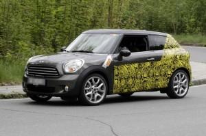 Spyshots: Mini Countryman Coupe хванат на тестове (галерия)