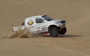 """Насър ал Атия ще кара Toyota в рали """"Дакар"""" 2013?"""