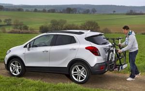 Opel Mokka ще се предлага с багажник за велосипеди FlexFix