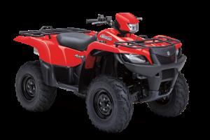 Обновената ATV-гама Suzuki KingQuad 2013 дебютира в САЩ