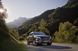 Премиера за новия Mercedes ML 500 4MATIC BlueEFFICIENCY