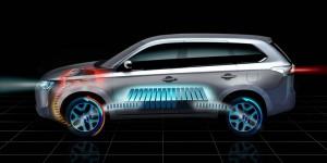 Mitsubishi Outlander Plug-in Hybrid EV ще дебютира в Париж тази есен