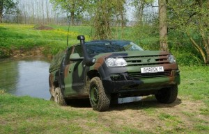Volkswagen Amarok M в служба на армията (галерия)