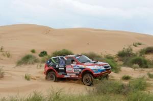 Ценков и Маринов 31-ви след етап 4 на Silk Way Rally