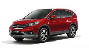 Дебют за европейската версия на Honda CR-V 2013 (галерия)